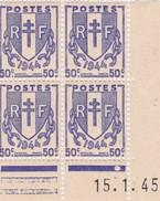 Coins Datés N° 673** (15.1.45)