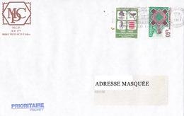 Lettre Prioritaire Voyagée De Monte Carlo Pour La Suisse Le 07/04/1999 Tp De Monaco Superbe Exc 2493