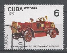 Cuba 1977. Scott #2146 (U) The Prevention Week, Early Motorized Vehicule * - Cuba