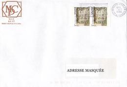 Lettre Prioritaire Voyagée De Monte Carlo Pour La Suisse Le 01/07/1996 Tp De Monaco Superbe Exc 2494