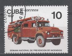 Cuba 1977. Scott #2147 (U) The Prevention Week, Modern Truck * - Cuba