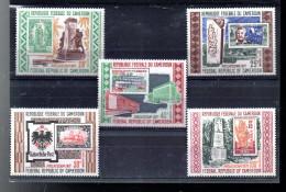 CAMEROUN A 186/190** SUR PHILATECAM 1971