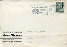 15007 Luxembourg, Circuled Cover 1971 Esch Sur Alzette, Une Vie Normale Pour Le Diabetique, Diabet