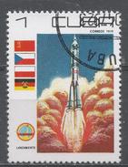 Cuba 1979. Scott #2244 (U) Cosmonaut's Day: Rocket Launch * - Cuba