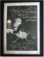 VOV Zabajone Ricostituente - Publicité Originale Découpée D´un Magazine Italien De L´année 1922 - Publicités