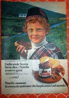 Advertising Pubblicità  NUTELLA DALLA VERDE SCOZIA - - Nutella