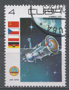 Cuba 1979. Scott #2245 (U) Cosmonaut's Day: Soyuz * - Cuba