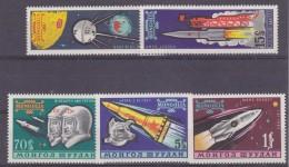 Mongolia 1962 Space 5v ** Mnh (33130)