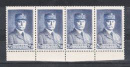 FRANCE YT 473 ** BLOC DE 4 - 1939-44 Iris