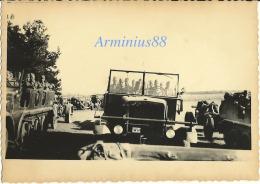 Wehrmacht - Semi-chenillé Sd.Kfz 7 Tirant Leur Canon D'artillerie - WH Halbkettenfahrzeug Mit Geschütz - Krieg, Militär