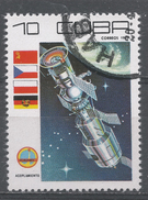 Cuba 1979. Scott #2247 (U) Cosmonaut's Day: Link-up * - Cuba