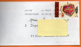 MAURY N° 3846   COEUR J.L. SCHERRER     Lettre Entière 110x220 N° O 183 - 1961-....