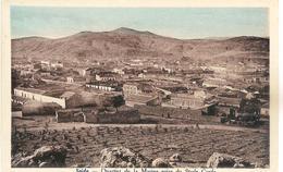 Algérie Saida Quartier De La Marine Prise Du Stade Carde Datée De 1936