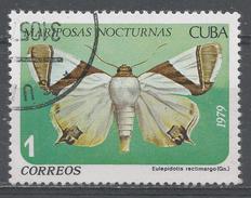 Cuba 1979. Scott #2256 (U) Butterfly, Eulepidotis Rectimargo * - Cuba