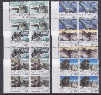 Ross Dependency 1992 Seals 6v  Bl Of 4 ** Mnh (33133) - Ongebruikt