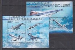 F13 Burundi - MNH - Transport - Airplanes - 2012