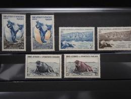 TAAF - Plaquette De Bonnes Valeurs ** N° 2 à 7 - 19530 - Terres Australes Et Antarctiques Françaises (TAAF)