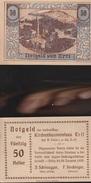 8067) AUSTRIA NOTGELD 50 HELLER VOR ERTL 1920 FDS - Austria
