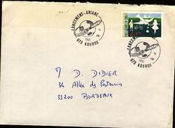 France Guyane Kourou CAD Lancement Ariane 14-8-1991 (720)