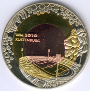 Südafrika, Medaille 2 Farbig - Fußball WM 2010 In Rustenburg, PP- - Afrique Du Sud