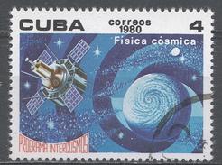 Cuba 1980. Scott #2322 (U) Intercosmos Program, Astrphysics * - Cuba