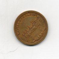 Medaille. Foire De Paris. 1953. Souvenir D'une Visite Au Stand De La Monnaie. Diam 30mm - France
