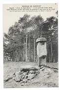 SAINT-NECTAIRE-LE-HAUT   (cpa 63)  Le Menhir De SAPCHAT  -     - L 1 - Saint Nectaire