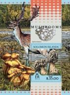 SOLOMON Isl. 2016 - Mushrooms, Deer S/S
