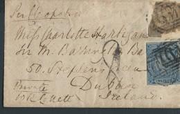 NOUVELLE GALLES DU SUD – Env Pour Dublin (Irlande) - Taxée Pour Affranchissement Insuffisant Avec N° 10 Et 8 - N° 20466 - 1851-1902 Reign Of Victoria