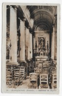 (RECTO / VERSO) BLANQUEFORT EN 1948 - N° 20 - INTERIEUR DE L' EGLISE - BEAU CACHET - CPA - Blanquefort