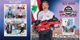 Togo 2014, Car's Collector Karam, 4val In BF +BF