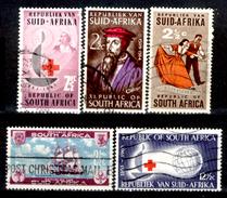Africa-del-Sud-0051 - Valori Emessi Negli Anni 1962-64 (o) Obliterated - Privo Di Difetti Occulti.
