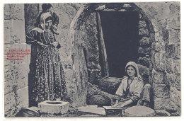 Cpa ( Israël ) Jérusalem - Femme Boulangère  ( Pain )  ((S.686)) - Israel
