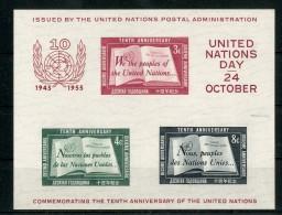 UNO Block 1955 **, Feinst.