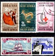 Africa-del-Sud-0052 - Valori Emessi Negli Anni 1962-64 (o) Obliterated - Privo Di Difetti Occulti.