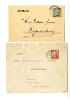"""""""Kolmannskuppe 18.10.11 Bzw """"20.2.12"""" Auf Prachtbrief (kl. Rißchen) Nach Bonn Bzw. Auf..."""