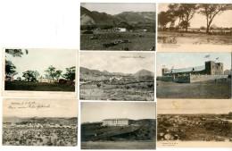 1902/1908, 6 Verschiedene Ungebrauchte Und 2 Gebrauchte (Marken Entfernt) Farb- Und Sw-Ansichtskarten.