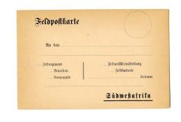 Seltene Ungebrauchte Fepdpost-Vordruckkarte, Ausgegeben In Württemberg (Vogenbeck FPK H-SWA 15)