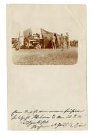 """10 Pf Auf Fotokarte (Eckbugspur)(beschriftet """"Eine Ansicht Von Meiner Früheren Feldpost-Station 2, R.Zink"""")..."""