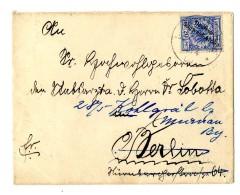 """20 Pf Auf Prachtbrief Der 2-ten Gewichtsstufe """"Gobabis 16.4.00"""" Nach Berlin Weiter Nach """"Bad Kohlgrub 29.5.00"""",..."""