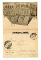 """Pracht-Feldpost-Vordruckkarte Aus """"Bremen 31.8.00"""" Nach Braunschweig, Absender Angabe """"5. Ostasiat. Inf. Reg. 6..."""