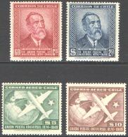 CHILE 1950 UNIVERSAL POSTAL UNION ANNIVERSARY** (MNH)