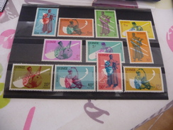 TIMBRES  GUINEE   NEUFS  N  93 A 104   COTE  7,10  EUROS