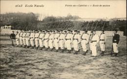 MARINE DE GUERRE - Bateaux De Guerre - Marine Militaire - Marins - Ecole Navale - Fistots Au Cabillot - Warships