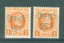 BELGIE - OBP Nr PR 1/2 - Privé-uitgiften - MNH** - Cote 5,00 € - Belgique