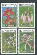 Anguilla N° 710 / 13  XX  Flore : Fleurs De Lys, Pâques, Les 4 Valeurs  Sans Charnière, TB
