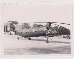 Photo Hélicoptère Militaire Homme Devant - Guerra, Militari