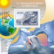 Togo 2014, Global Warming, Wave, Owl,  BF - Whales