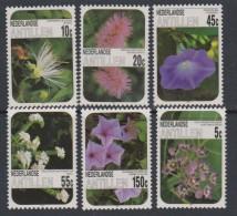 Antilles Néerlandaises N° 756 / 61  XX  Flore : Fleurs,  Les 6 Valeurs  Sans Charnière, TB