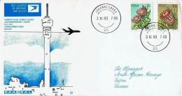Südafrika / South Africa - Erstflug / First Flight SAA Johannesburg - Taipei 03.11.1980 (N999)